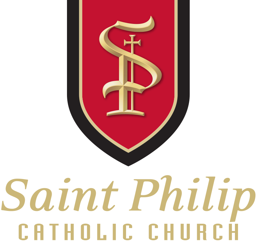 Saint Philip Catholic Church Retina Logo